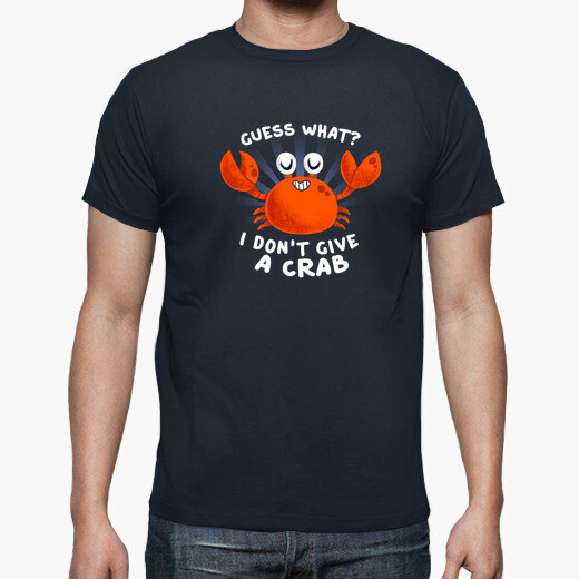 Camiseta Dont give a crab