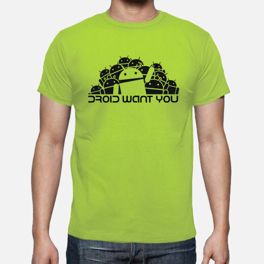Camiseta Droid Group Want You
