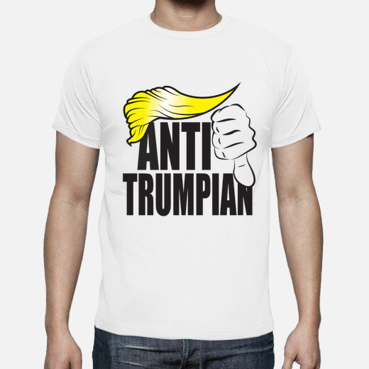 Camiseta dump trump - anti trumpian
