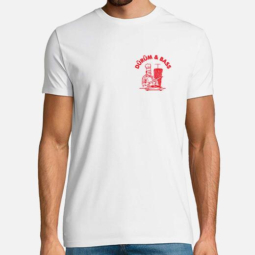 Camiseta Dürum and Bass  Delante y Detrás