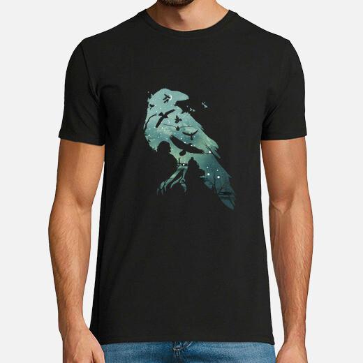 Camiseta el cuervo