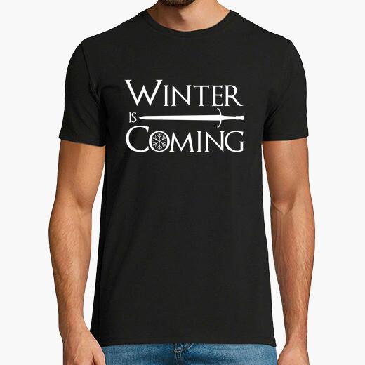 Camiseta el invierno viene jon nieve