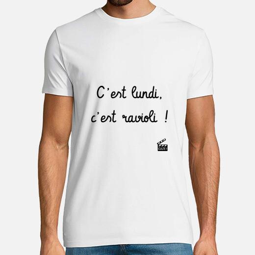 Camiseta El lunes es ravioles - réplica...
