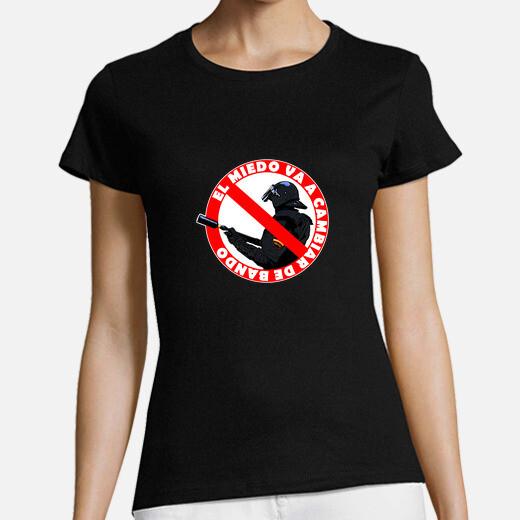 Camiseta El Miedo va a cambiar de Bando