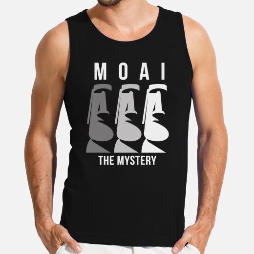 Camiseta el misterio moai rapa nui isla de...