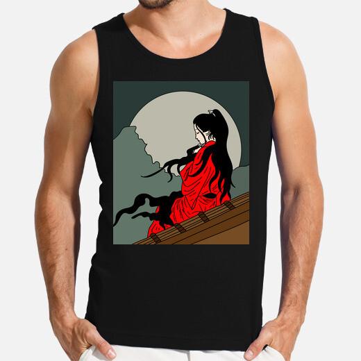 Camiseta espeluznante vampiro gracioso...