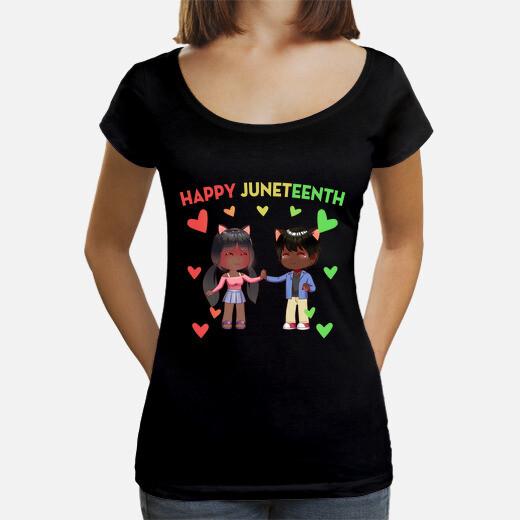 Camiseta feliz decimonoveno estilo anime