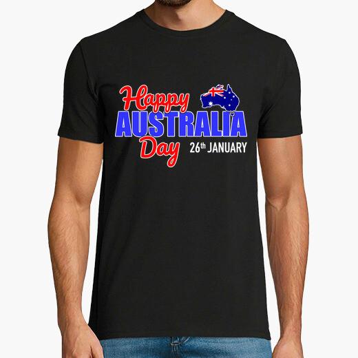 Camiseta feliz día de australia 26 de enero