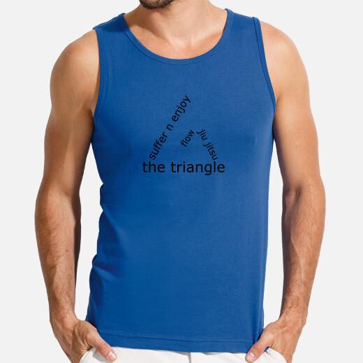 Camiseta Flow BJJ the triangle choke