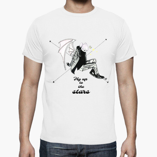 Camiseta Fly up to the Stars H