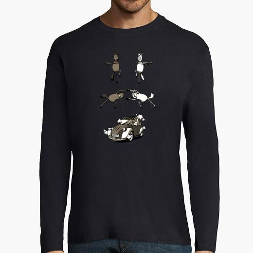 Camiseta fusión 2 caballos