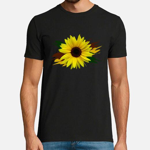 Camiseta girasol girasoles flor floración...