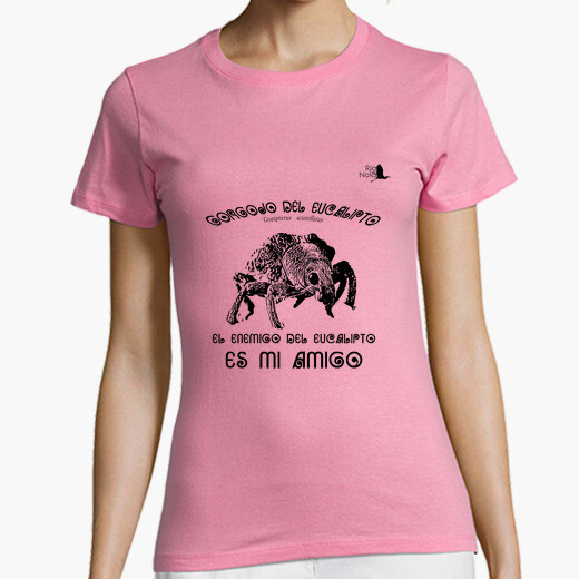 Camiseta GORGOJO DEL EUCALIPTO NEGRO
