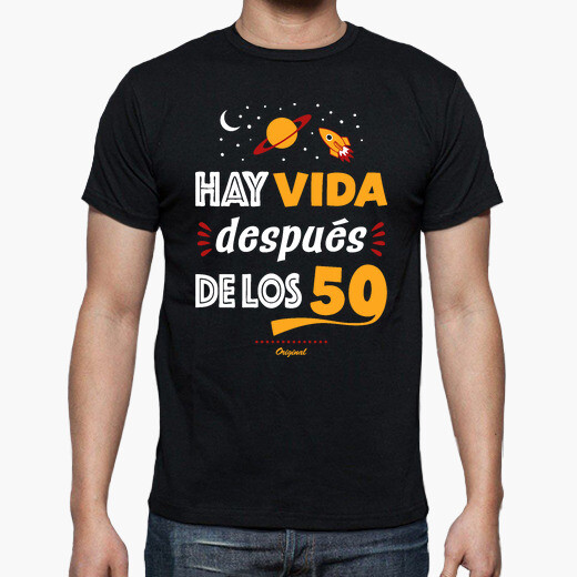 Camiseta Hay vida después de los 50