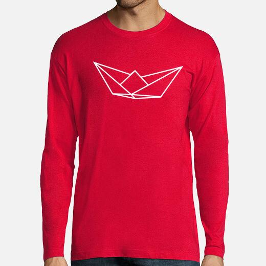Camiseta Hombre, manga larga, rojo