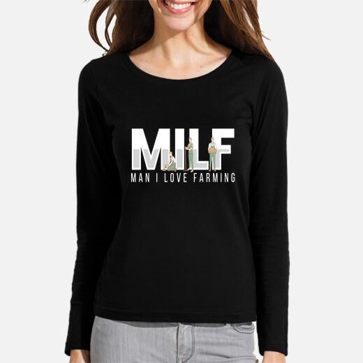 Camiseta hombre milf me encanta la...