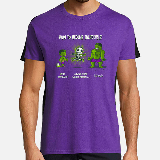 Camiseta How to Become Incredible