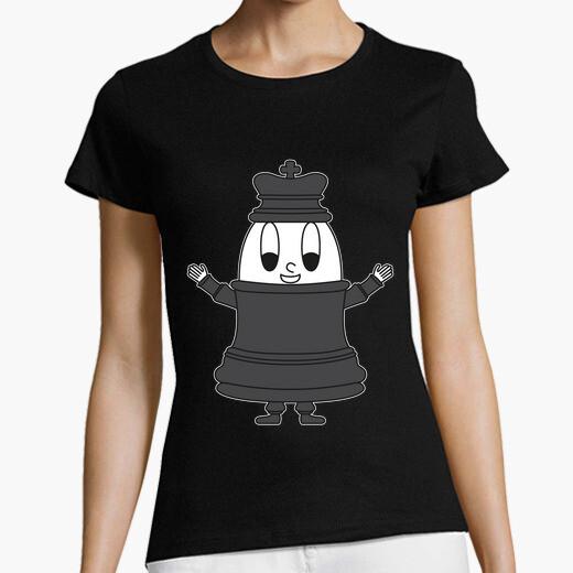 Camiseta huevo de rey de ajedrez