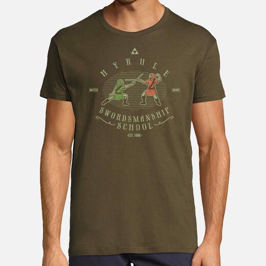 Camiseta Hyrule Swordsmanship School