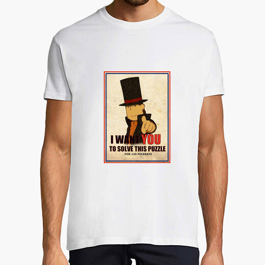 Camiseta I want you to resolve this puzzle