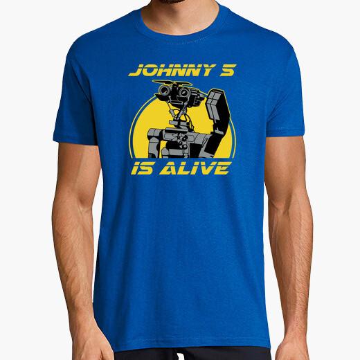 Camiseta Johnny 5 is Alive - Cortocircuito
