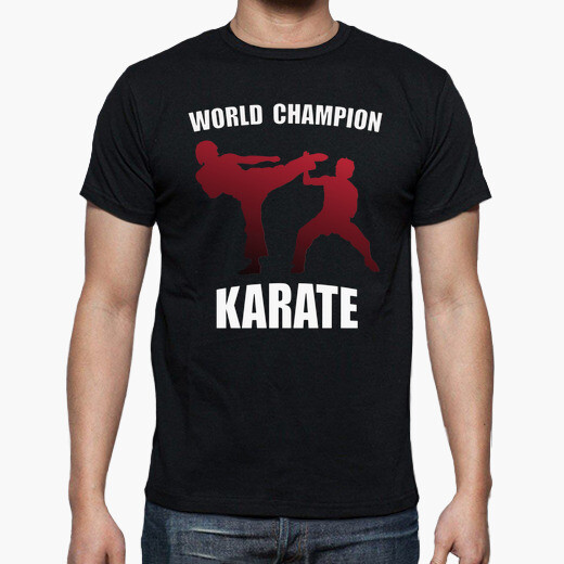 Camiseta Karate World champion
