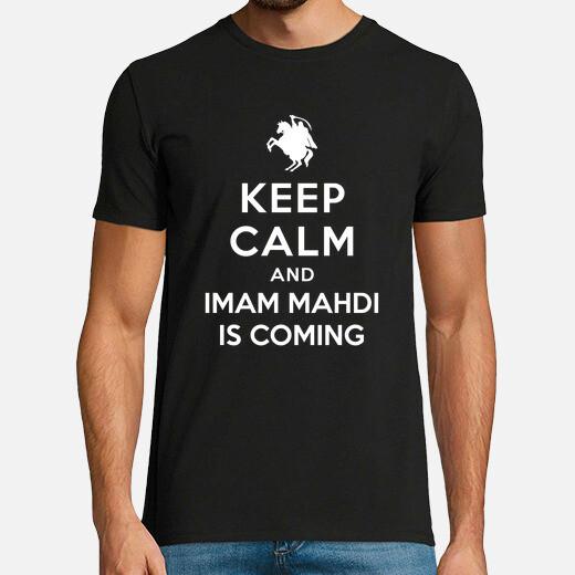 Camiseta Keep Calm and Imam Mahdi is Coming