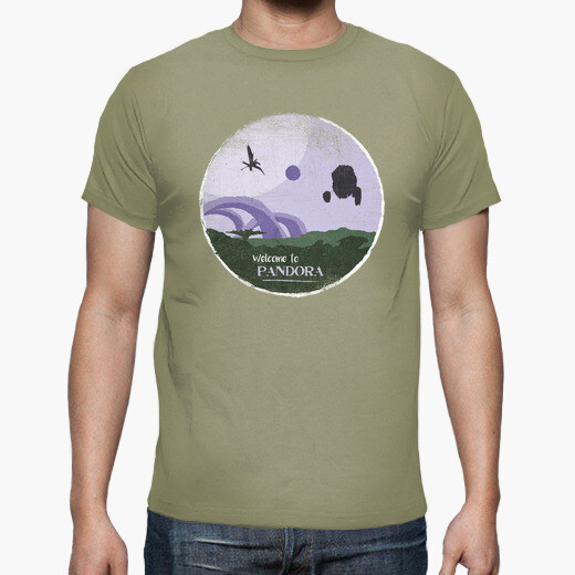 Camiseta la bienvenida a pandora