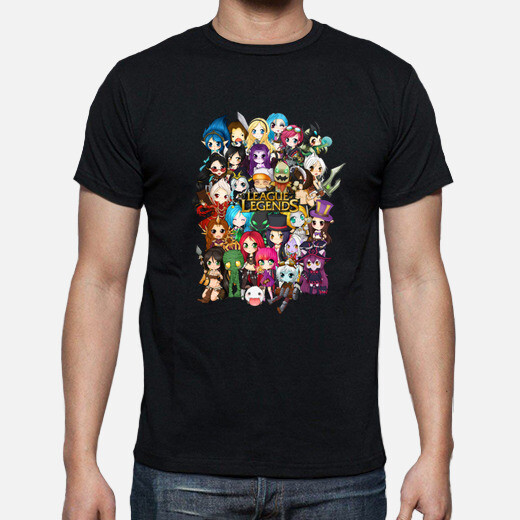 Camiseta League of Legends Chibi