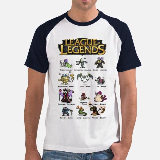 Camiseta League of Legends MUTATIONS