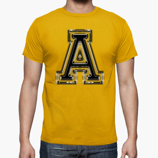 Camiseta Letra A