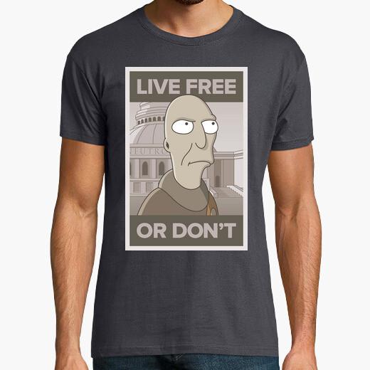 Camiseta Live free