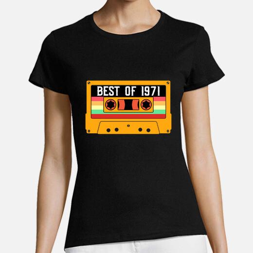 Camiseta lo mejor del cumpleaños de 1971...