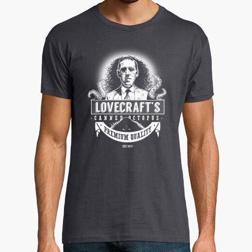 Camiseta Lovecraft's Canned Octopus (Clara)