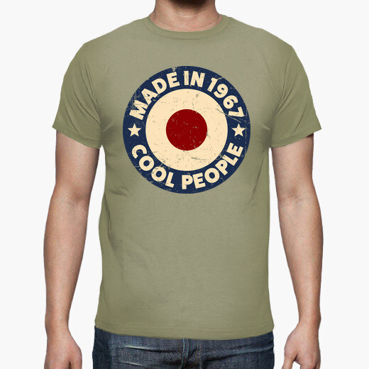 Camiseta Made in 1967 Cool People