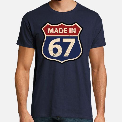Camiseta Made in 67
