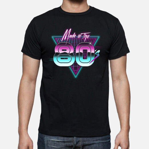 Camiseta Made in the 80s