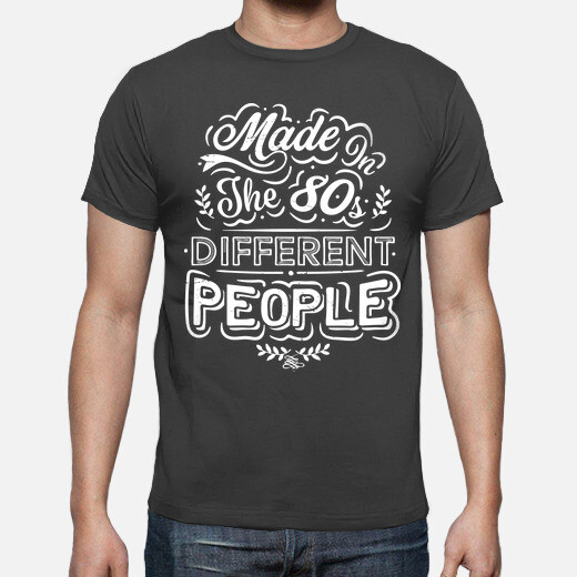Camiseta Made In The 80s Different People