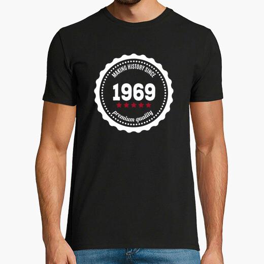 Camiseta Making History since 1969