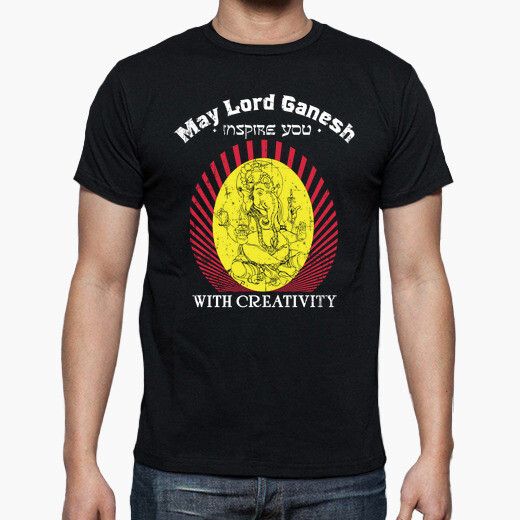 Camiseta May lord Ganesh inspire you with...