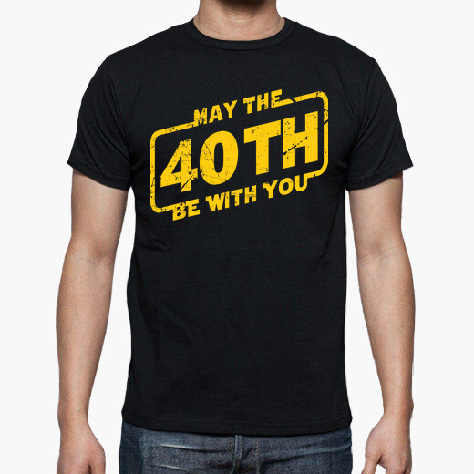 Camiseta May The 40th Be With You, 1981