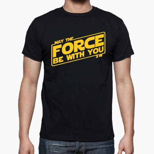 Camiseta May the Force be with you