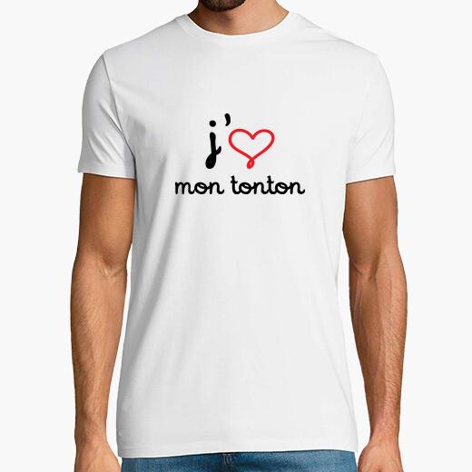 Camiseta Me encanta mi tío / Nacimientos /