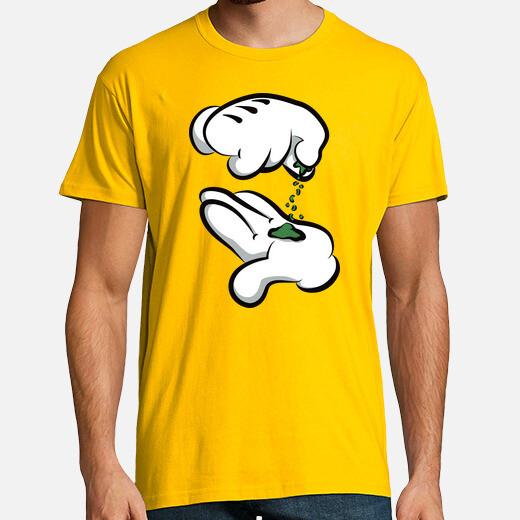 Camiseta Mickey Mouse - Marihuana