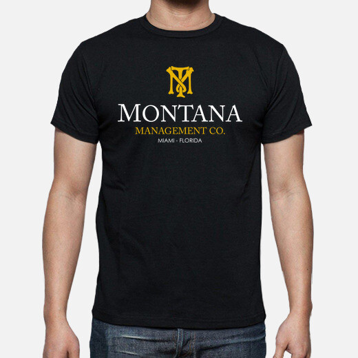 Camiseta Montana Management Co. (Scarface)