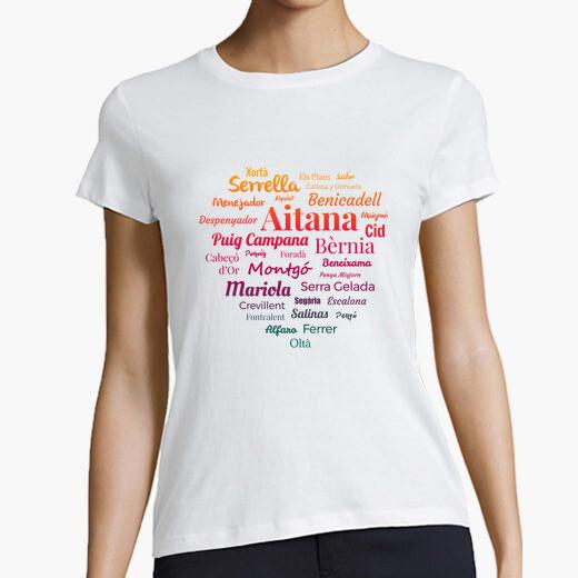 Camiseta mujer Sierras de Alicante N4