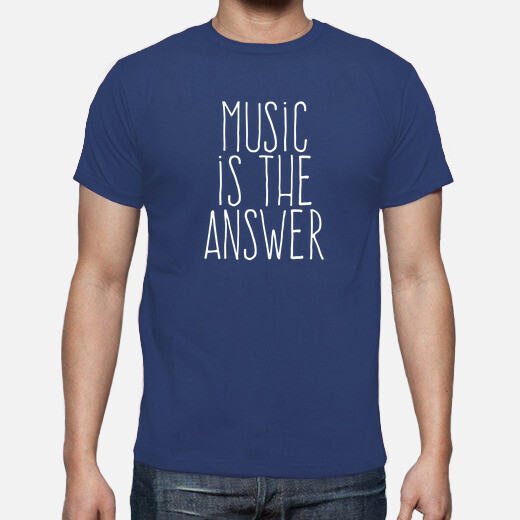 Camiseta Music is the answer