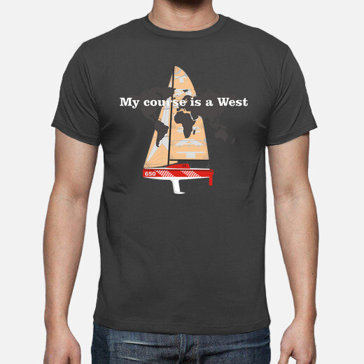 Camiseta My course is a West