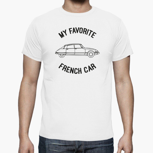 Camiseta My favorite french car - DS