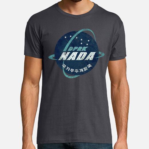 Camiseta NADA North Korean Space Agency